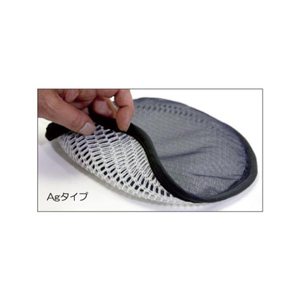 頭のムレを解消して嫌な匂いをなくす 制帽用 快適パッド Agタイプ (ネコポス便可能:2個まで)|akagi-aaa|07