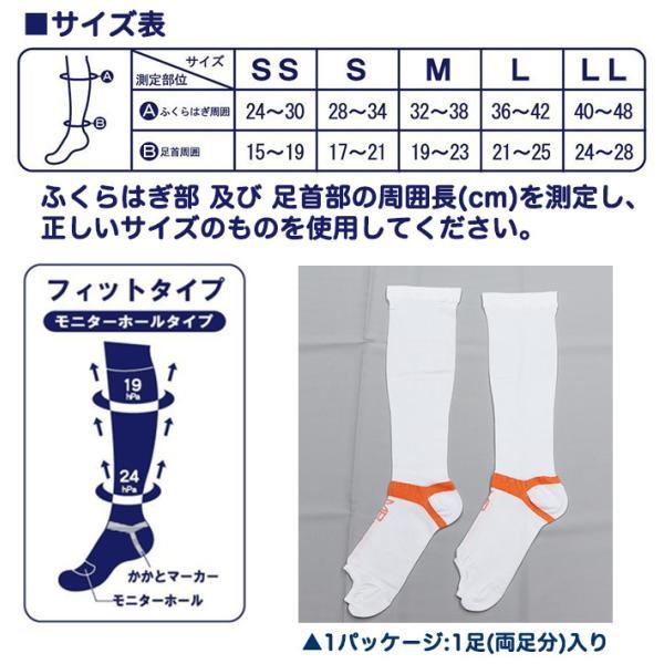 弾性ストッキング 医療用 MBメディカルソックス ひざ下ハイソックス むくみ 着圧ソックス akagi-aaa 02