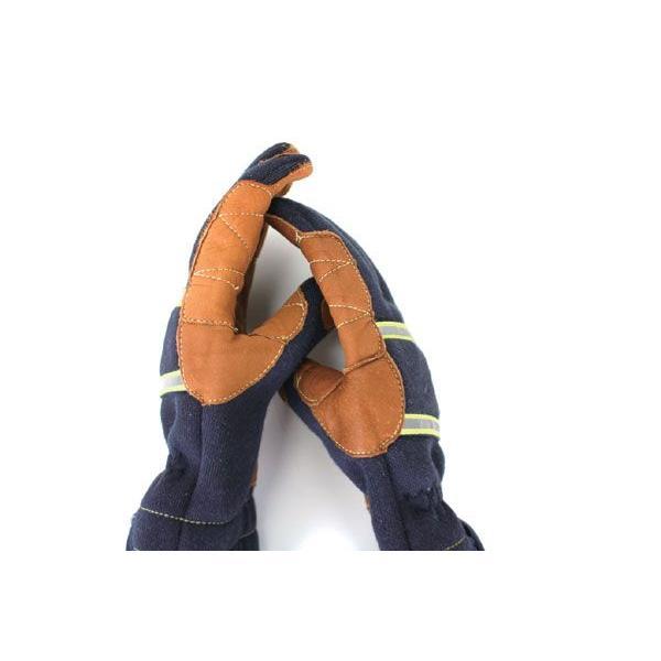 トンボ社製 レスキューグローブ TONBOREX トンボレックス K-TFG7 反射テープ付きケブラー防火手袋 ネイビー(DM便/ネコポス不可)|akagi-aaa|03