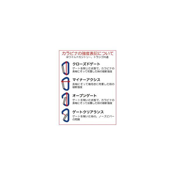TRANGO(トランゴ) D環型カラビナ ネオクラシック スクリュー パープル #1826027 (DM便/ネコポス可能:2個まで)|akagi-aaa|03