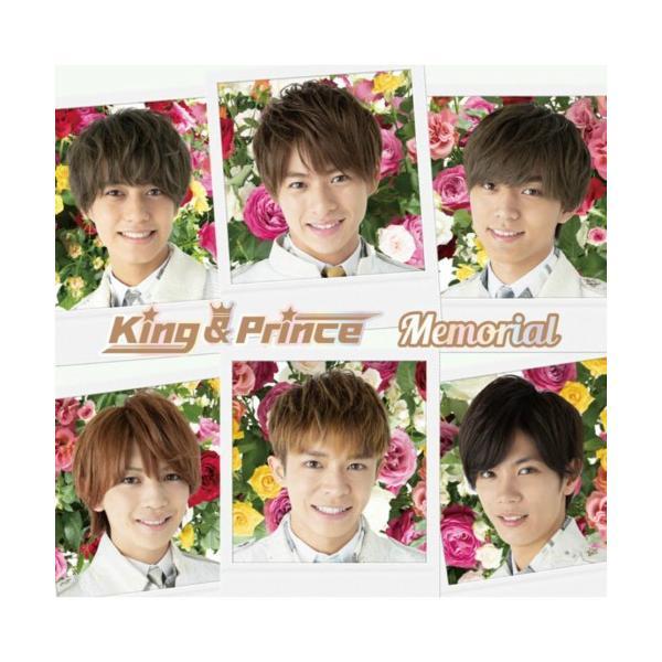 特典付き Memorial(通常盤) King & Prince CD 先着特典ステッカーシートCタイプ キンプリ|akaikumasan