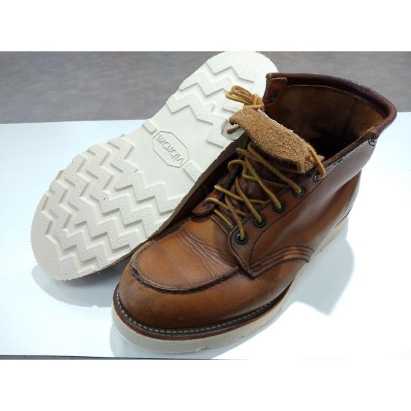 vibramソール4014白 張り替え靴修理 akakutsu