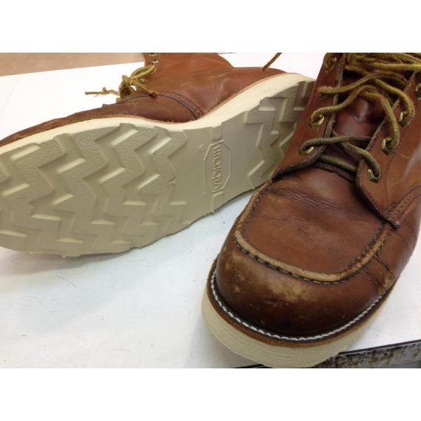 vibramソール4014白 張り替え靴修理 akakutsu 05