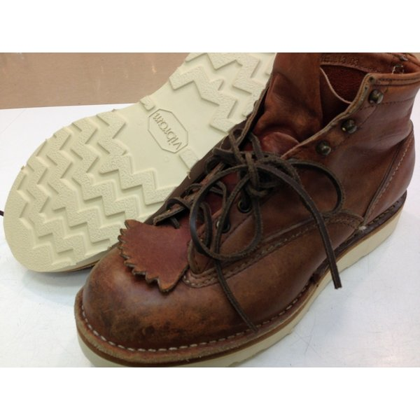 vibramソール4014白 張り替え靴修理 akakutsu 06