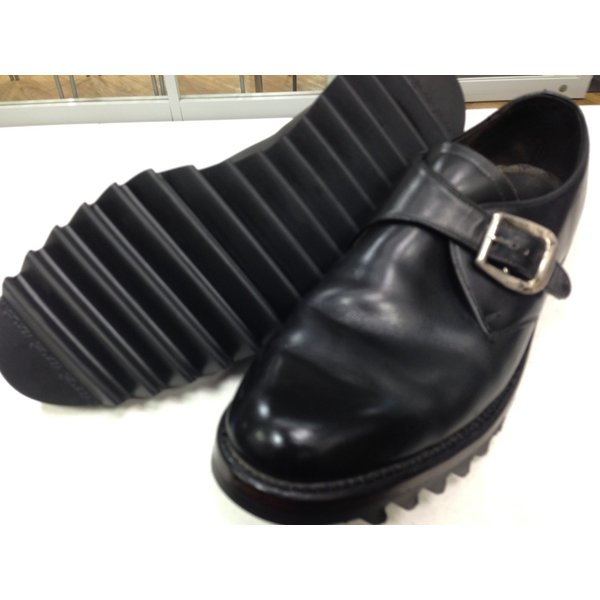 ソール交換 vibram7124 ripple sole(黒・グリーン・ベージュ)|akakutsu|06