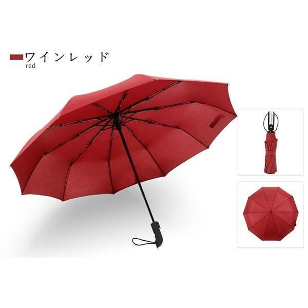 母の日 好評 軽量折りたたみ傘 自動開閉 折り畳み傘 父の日 10本骨 ワンタッチ 傘 かさ メンズ レディース 耐風傘 撥水性 丈夫 大きいかさ 雨傘 雨具 男性 女性|akalui|16