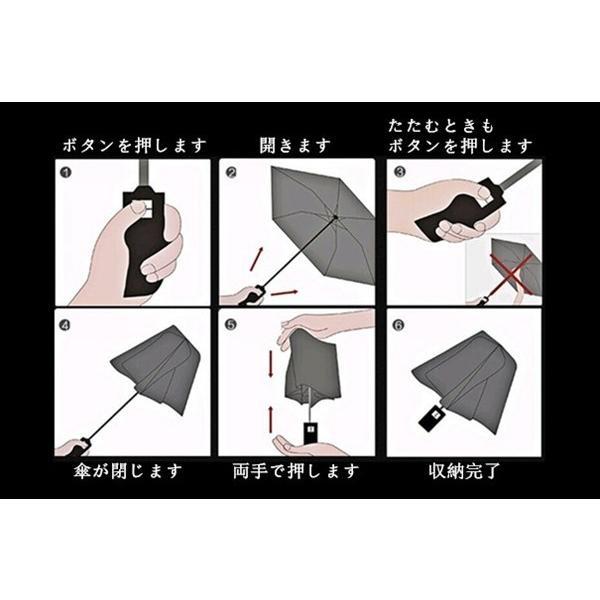 母の日 好評 軽量折りたたみ傘 自動開閉 折り畳み傘 父の日 10本骨 ワンタッチ 傘 かさ メンズ レディース 耐風傘 撥水性 丈夫 大きいかさ 雨傘 雨具 男性 女性|akalui|07