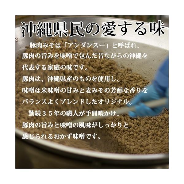 ご飯のお供  沖縄豚肉みそ 赤マルソウ本店 油みそ あんだんすー アンダンスー akamarusou 05