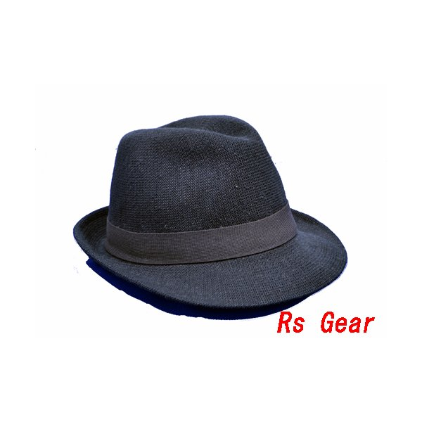 NEWYORK HAT #7129 SOLID FEDORA  akamonbrother-rsgear
