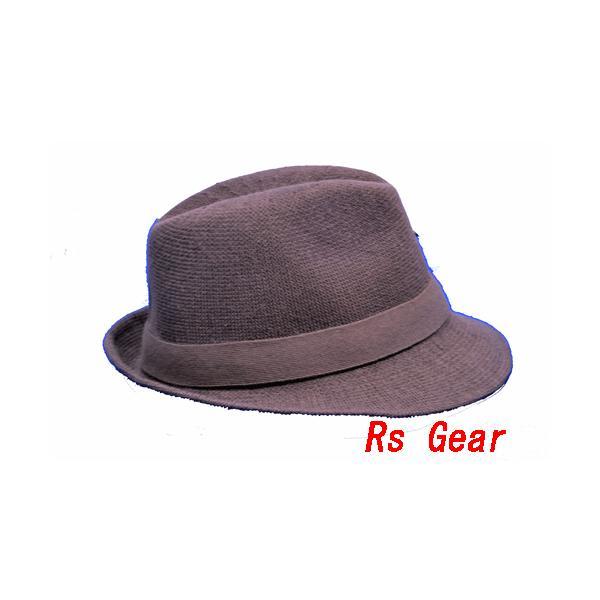 NEWYORK HAT #7129 SOLID FEDORA  akamonbrother-rsgear 02