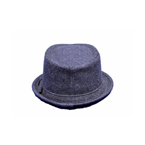 NEWYORK HAT #3038 DENIM PORKPIE  akamonbrother-rsgear 03