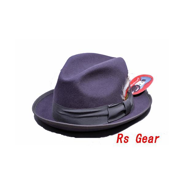 NEWYORK HAT #5212 FELT JAZZ HAT akamonbrother-rsgear