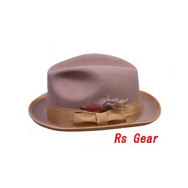 NEWYORK HAT #5212 FELT JAZZ HAT akamonbrother-rsgear 02