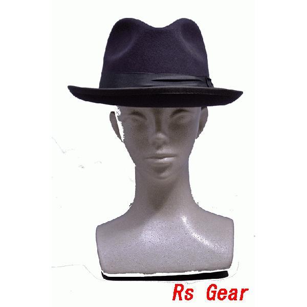 NEWYORK HAT #5212 FELT JAZZ HAT akamonbrother-rsgear 03