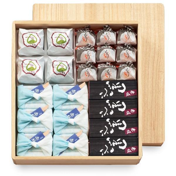 風雅 桐箱 23個入 仏事 和菓子 ギフト|akasakaaono