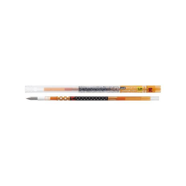 スタイルフィット ディズニー ゲルインクボールペンリフィル 0.38mm UMR-129DS-38 [オレンジ]