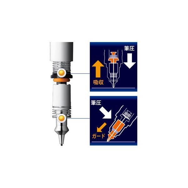 シャープペンシル ゼブラ ZEBRA デルガード タイプGR 0.5mm ミントグリーン P-MA93-MTG|akatsuka-bs|04