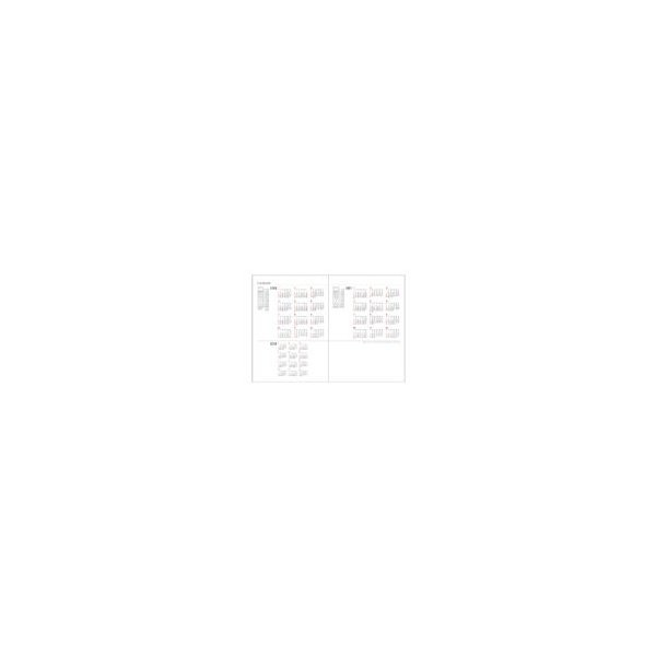 ダイアリー 手帳 ダイゴー DAIGO 2020年1月始まり アポイント Appoint E1037 見開き2週間 A5 ブラック|akatsuka-bs|02