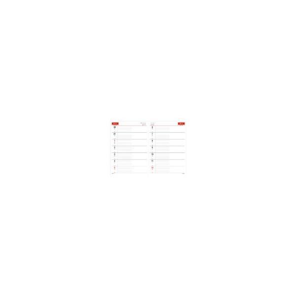 ダイアリー 手帳 ダイゴー DAIGO 2020年1月始まり アポイント Appoint E1037 見開き2週間 A5 ブラック|akatsuka-bs|05