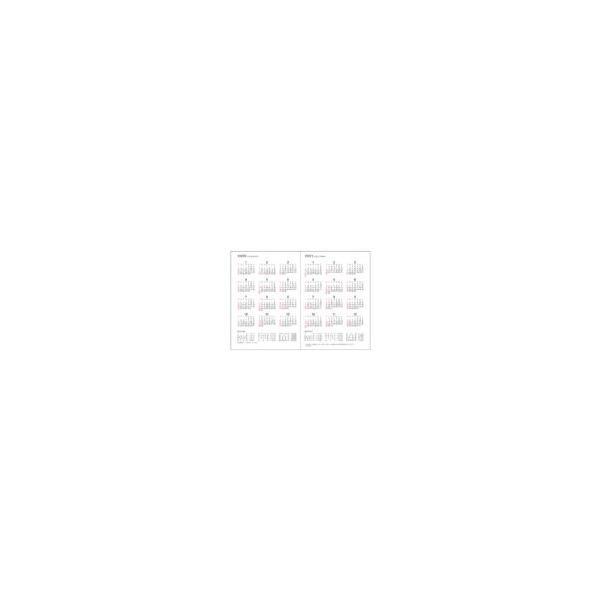 ダイアリー 手帳 ダイゴー DAIGO 2020年1月始まり アポイント Appoint E1376 1週間バーチカル A6 ブラック|akatsuka-bs|02