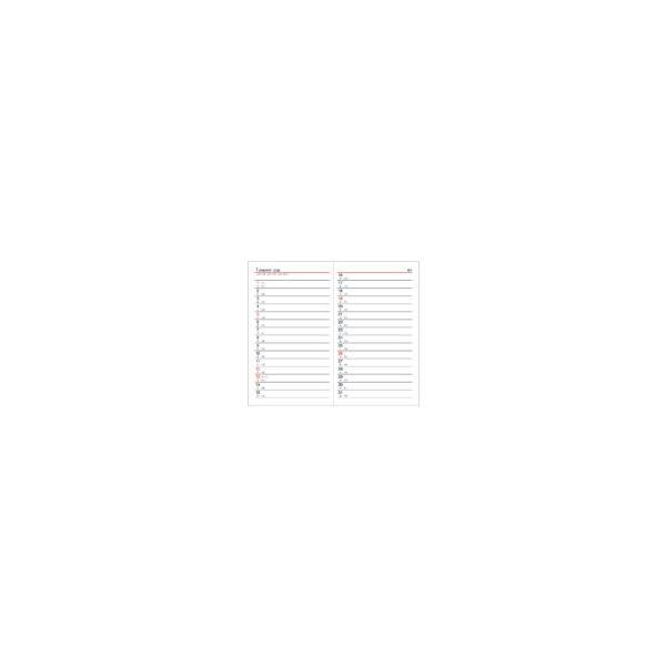 ダイアリー 手帳 ダイゴー DAIGO 2020年1月始まり アポイント Appoint E1007 見開き1週間 手帳(ミニ)サイズ ブラック|akatsuka-bs|04