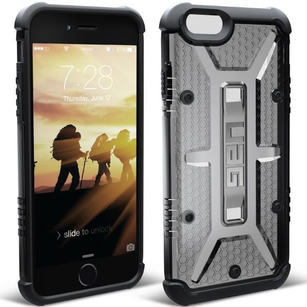 iPhone6s iPhone6 コンポジット ケース クリアグレー UAG-IPH6S-ASH アウトレット メール便可 URBAN ARMOR GEAR 国内正規代理店品