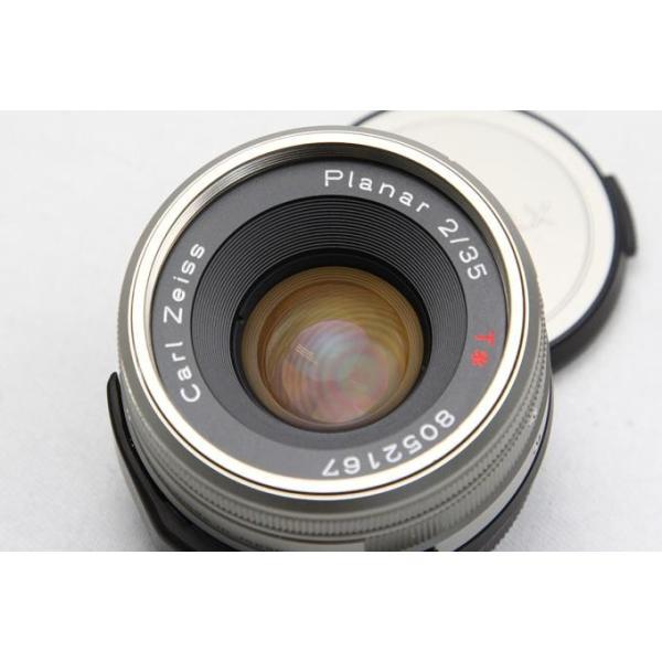 コンタックス CarlZeiss G Planar 35mm F2 レンズスードなど付属品一式付き 【K199】 akiba-ryutsu 03