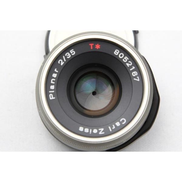 コンタックス CarlZeiss G Planar 35mm F2 レンズスードなど付属品一式付き 【K199】 akiba-ryutsu 04