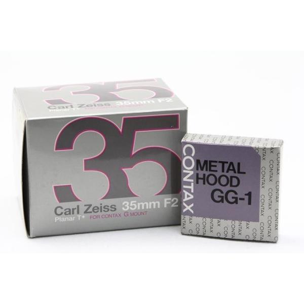 コンタックス CarlZeiss G Planar 35mm F2 レンズスードなど付属品一式付き 【K199】 akiba-ryutsu 09