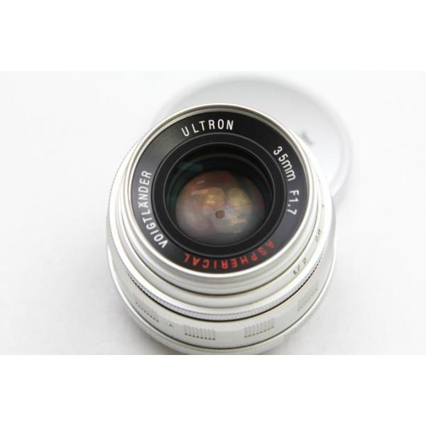 コシナ フォクトレンダー ULTRON 35mm F1.7 Aspherical シルバー ライカLマウント 【K861】|akiba-ryutsu|04