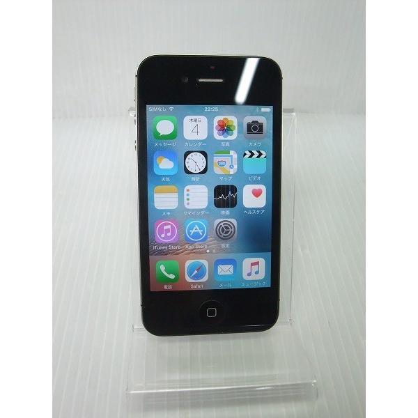 iPhone4S 64GB ブラック (MD259J/A) auの画像