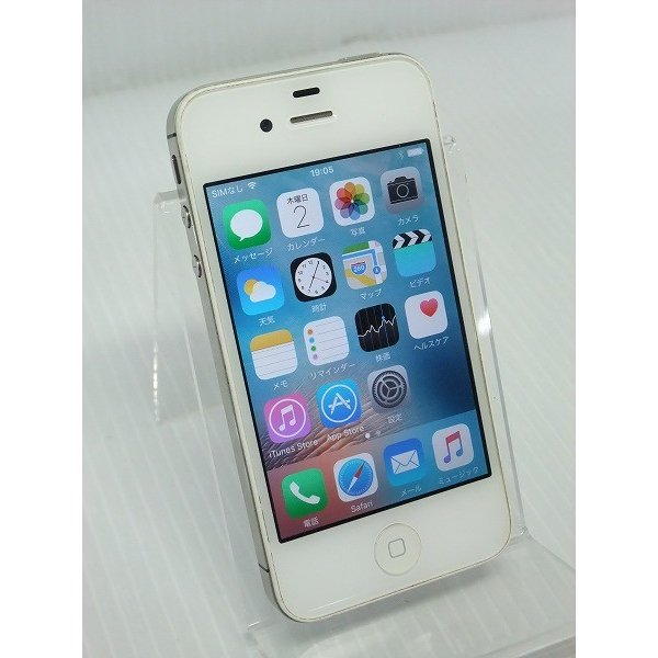 iPhone4S 64GB ホワイト (MD262J/A) auの画像