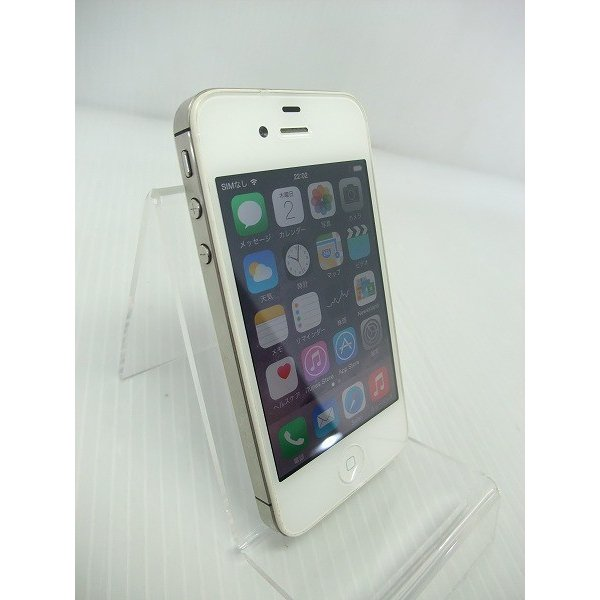 中古 [中古] iOSスマートフォン SoftBank Apple iPhone 4S 16GB ホワイト MD239J/A