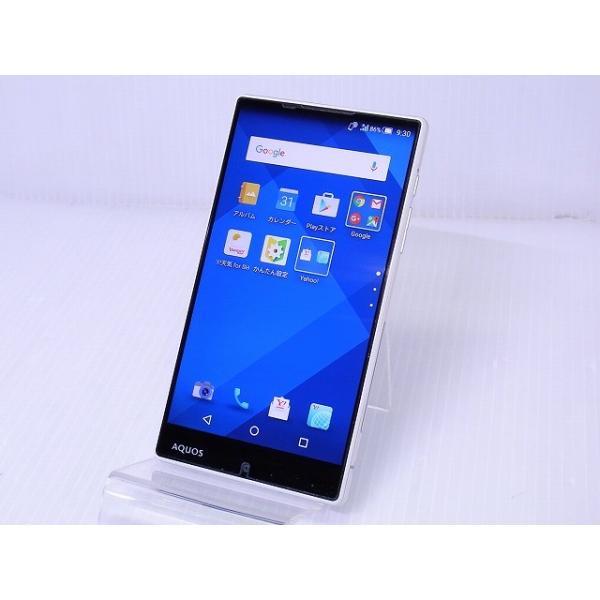 AQUOS Xx-Y 404SH 32GB ホワイト Y!mobileの画像