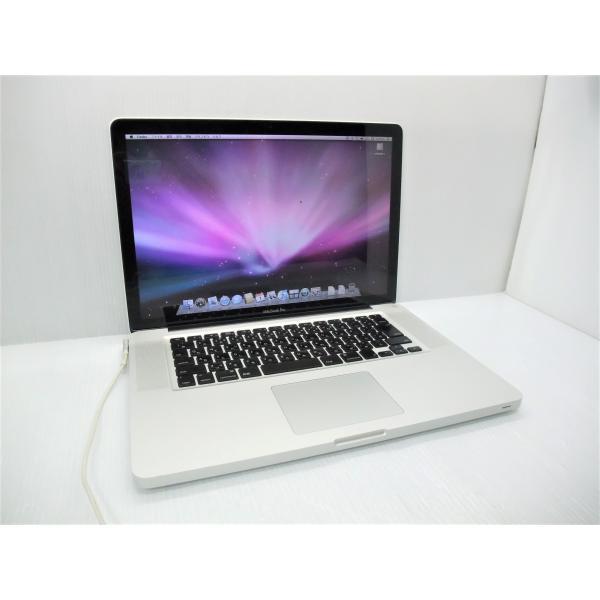 中古ノートパソコンAppleMacBookPro15inchMid2009Core2Duo-2660/8GB-MEM/320GB