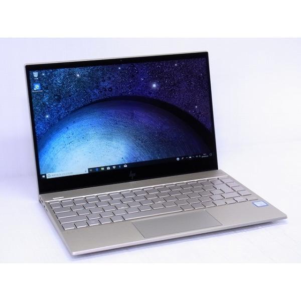 HP 4QM75PA-AAAB ノートパソコン ENVY 13-ah0038TU-OHB シルクゴールド [13.3型 /intel Core i5 /SSD:512GB /メモリ:8GB /2018年8月モデル]の画像