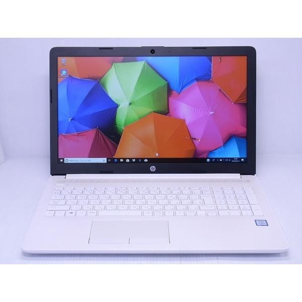 HP 15-da0089TU-OHB 4QM57PA-AAAB ピュアホワイト [intel Core i3 /メモリ:8GB]の画像