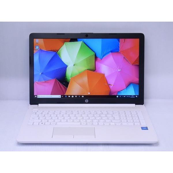 HP 15-da0084TU 4QM56PA-AAAA ピュアホワイト [intel Celeron /メモリ:4GB]の画像