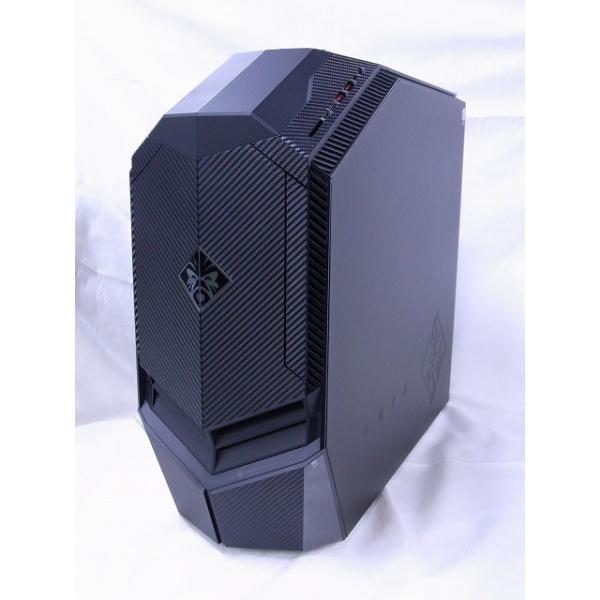 2NL58AA-AAAC ゲーミングデスクトップパソコン OMEN ブラック [モニター無し /HDD:2TB /SSD:512GB /メモリ:32GB /2018年4月]の画像