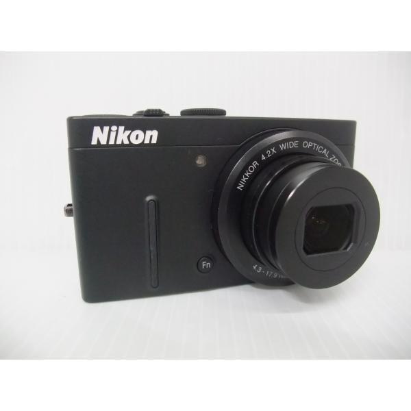 中古 コンパクトデジタルカメラ Nikon COOLPIX P310 ブラック ※充電器欠品