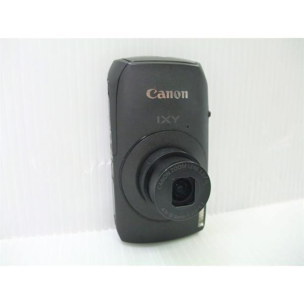 中古 コンパクトデジタルカメラ Canon IXY 30S ブラック