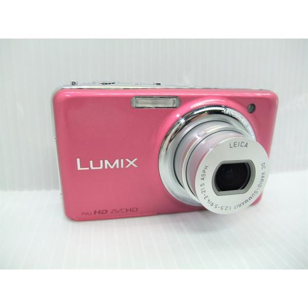 中古 コンパクトデジタルカメラ Panasonic LUMIX DMC-FX77 グラマラスピンク