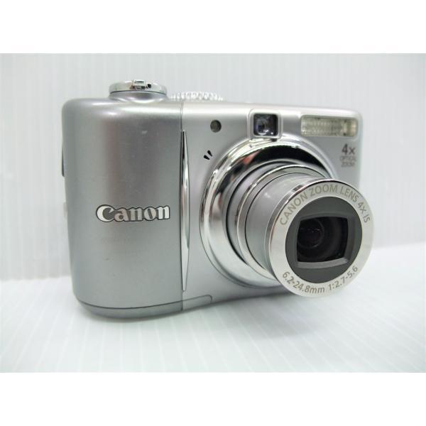 中古 コンパクトデジタルカメラ Canon PowerShot A1100 IS シルバー