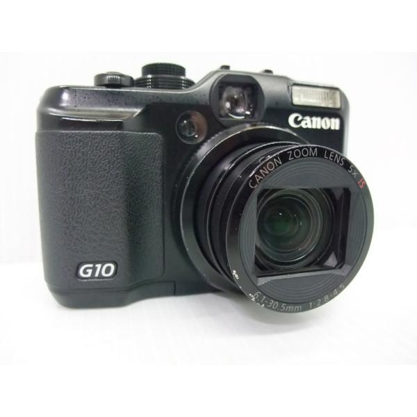 中古 コンパクトデジタルカメラ Canon PowerShot G10 ※難あり品