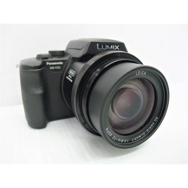 中古 デジタルカメラ Panasonic LUMIX DMC-FZ20 ブラック