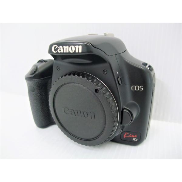 中古 デジタル一眼レフカメラ Canon EOS Kiss X2 ボディ