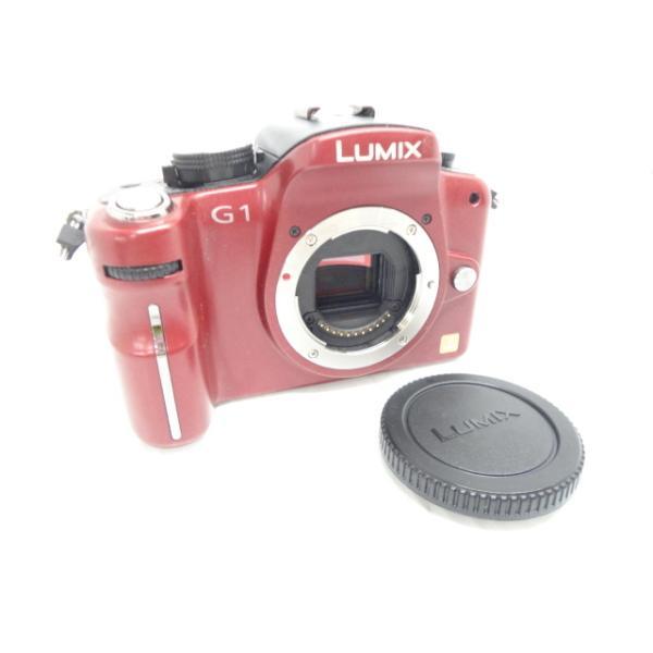 中古 デジタル一眼カメラ Panasonic LUMIX DMC-G1 ボディ ※本体にべたつきあり