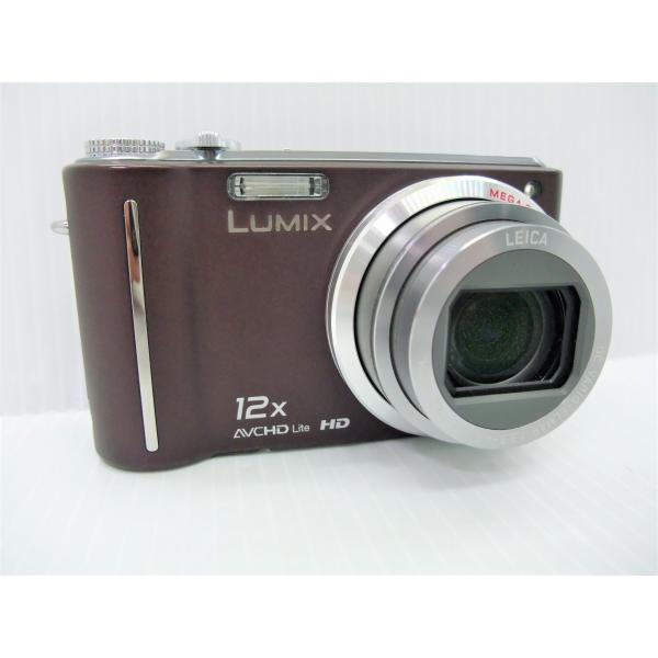 中古 コンパクトデジタルカメラ Panasonic LUMIX DMC-TZ7 ブラウン ※ジャンク品