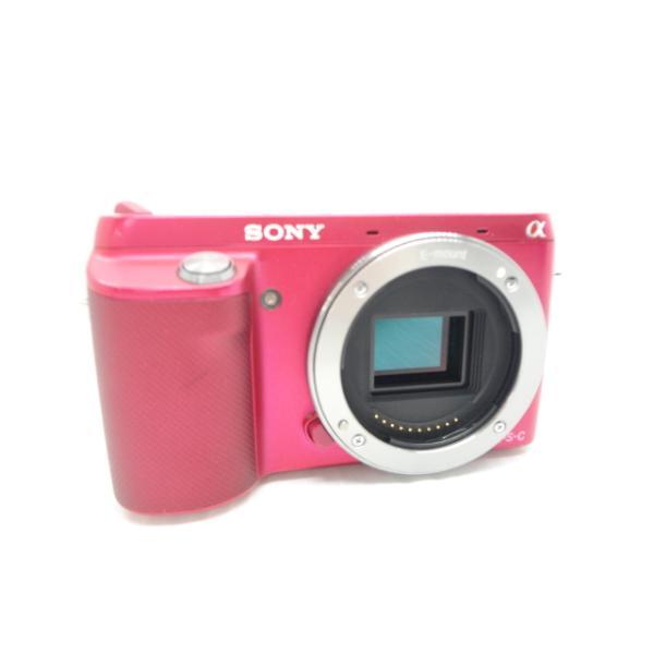 中古 デジタル一眼レフカメラ SONY NEX-F3 ※SDカードスロット使用不可