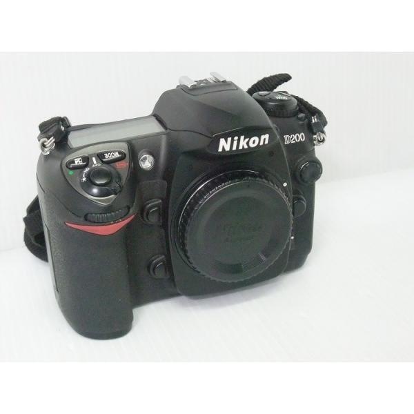 [中古] デジタル一眼レフカメラ NIKON D200 ボディ
